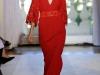 вечернее платье красное длинное от Andrew Gn