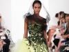 Модное платье с асимметричным низом 2014 от Oscar de la Renta