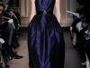 Синее платье с ажурным верхом Andrew Gn