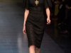 Ажурное кружевное черное платье Dolce & Gabbana