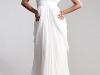 Длинные белые вечерние платья