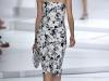 Модные черно-белые платья Lacoste