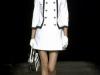 Платья черно белые короткие от Moschino