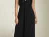 Черное платье для полных 2011