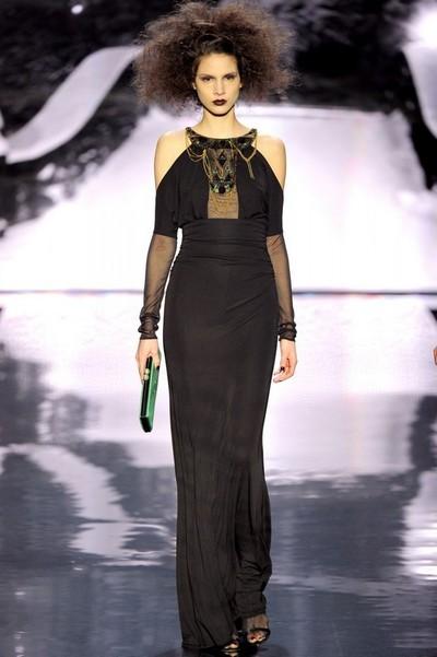 2647ab2eaf4 Вечерние черные платья осень-зима 2012-2013 фото