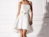 Короткое свадебное платье для худых и стройных девушек
