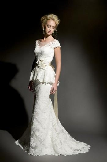 e14a2ac880beffc Свадебные платья для худых и стройных девушек (44 модели) | Вечерние ...