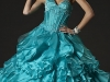 Свадебные платья голубого цвета