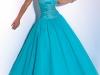 Голубые свадебные платья фото