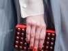 Красный клатч к платью от Valentino