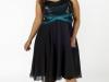 Коктейльные платья 2011 для полных