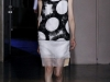 Черно-белое короткое летнее платье Rue du Mail