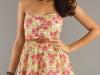 Короткие платья без лямок фото