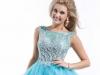 Модные короткие платья на выпускной 2014