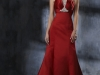 Свадебные платья красного цвета