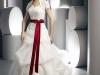 Красно белые свадебные платья фото