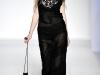 Кружевное черное платье 2012 Alberta Ferretti