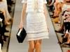 Белое кружевное платье 2012 года, Oscar de la Renta
