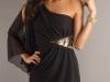 Вечернее черное платье мини 2012 года