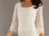 Белые мини-платья