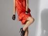 Атласные платья 2011