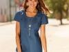 Модные джинсовые платья 2011