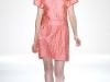 Короткое розовое летнее платье 2012 от Jill Stuart