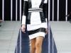 Короткое черно-белое платье сезона весна 2014, Maxime Simoens