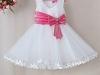 Белое новогоднее платье для девочки