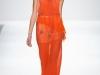 Вечернее оранжевое платье от Charlotte Ronson