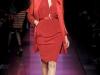 Короткое оранжевое платье весна-лето 2012 от Jean Paul Gaultier