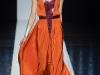 Длинное оранжевое платье от Maxime Simoens