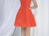 Платье оранжевого цвета Wes Gordon