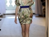 Платье баллон короткое с принтом от Andrew Gn