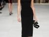 Черное платье миди Burberry Prorsum