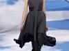 Черное платье миди Christian Dior