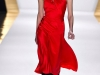 Красное платье миди вечернее J. Mendel