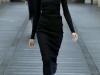 Черное платье миди вязаное Miu Miu