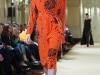 Оранжевое платье длина миди Viva Vox