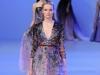 Вечернее длинное платье с паетками и аппликациями от Elie Saab 2014