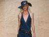 Модели платьев с запахом от Donna Karan Весна-Лето 2014