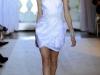 Короткое белое платье тюльпан от Andrew Gn