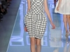 Короткое платье тюльпан в клетку 2012 от Christian Dior