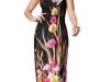 Платья 2012 с принтом для полных девушек