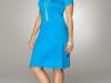 Синее платье на полную фигуру