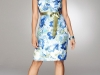 Короткие платья 2012 с принтом для полных девушек