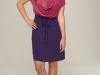 Короткое модное платье для полных 2012