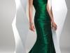 Зеленое вечернее платье на 8 марта