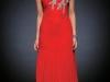 Красное платье на 8 марта