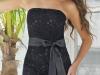 Черное кружевное платье на 8 марта